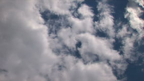 Clouds Time Lapse 01 stock footage