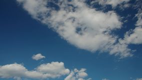 Clouds, time-lapse stock video footage