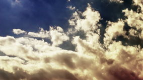 Clouds. Time Lapse stock video footage