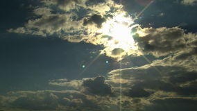 Clouds timelampse sky. HD 1080i stock video footage