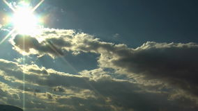 Clouds timelampse sky. HD 1080i stock video