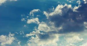 Clouds timelapse. Beautiful cloudscape. Clouds rolling on sky. Clouds sky stock video