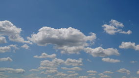 Clouds timelapse seamless Royalty Free Stock Image