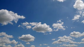 Clouds timelapse seamless Royalty Free Stock Photos