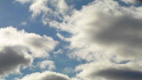 Clouds timelapse stock footage