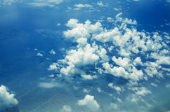 Clouds from the top Stock Photos