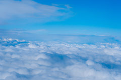 Clouds.  top view Royalty Free Stock Photography
