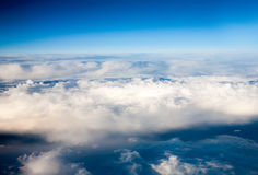 Clouds. top view Royalty Free Stock Image