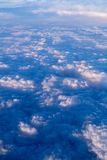 Clouds. top view Royalty Free Stock Photo