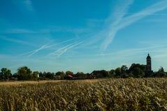 clouds trevligt Arkivbilder