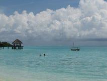 clouds tropiskt Fotografering för Bildbyråer