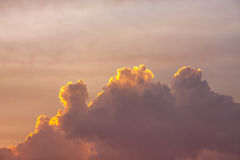 Clouds twilight Royalty Free Stock Photo