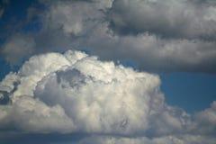clouds unikt Royaltyfria Bilder