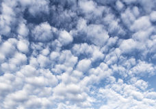 Clouds. Unusual cloud formation on a sunny morning Royalty Free Stock Photo