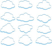Clouds Royalty Free Stock Photos