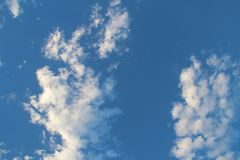 Clouds. From a very cloudy day in Vegas Royalty Free Stock Photography