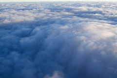 Clouds - View from Flight 10 Royalty Free Stock Photo