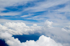 Clouds - View from Flight 113 Stock Photography