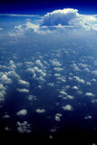 Clouds - View from Flight 86 Royalty Free Stock Photo
