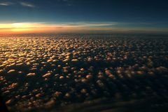 Clouds - View From Flight 98 Royalty Free Stock Photo