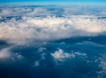 Clouds. top view. Royalty Free Stock Images