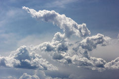 Soft Blue and White Clouds Royalty Free Stock Photos