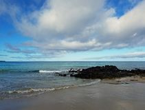 The Clouds and the Waves Royalty Free Stock Photos