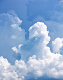 clouds white Fotografering för Bildbyråer