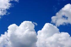 clouds white Arkivbilder