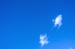 Clouds and Blue sky  background Stock Photos