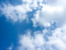 Clouds. White clouds on blue sky Stock Images