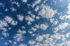 Clouds. White clouds in the sky ,background concept Royalty Free Stock Photography