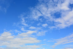 Clouds and wonderful sky Royalty Free Stock Photos