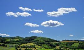 cloudscape乡下 库存照片