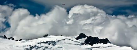 cloudscape厨师挂接新西兰 免版税库存照片