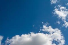 Cloudscape在一好日子 库存图片