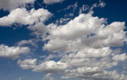cloudscape壮观 库存照片