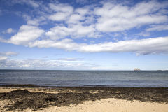 cloudscape海运 免版税图库摄影