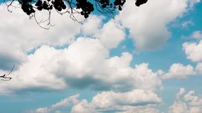 Cloudscape自然timelapse 股票视频
