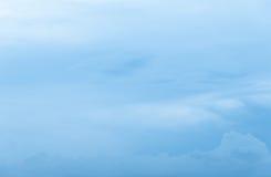 Cloudscape蓝天和多云 免版税图库摄影