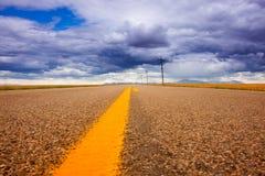 cloudscape高速公路 库存图片
