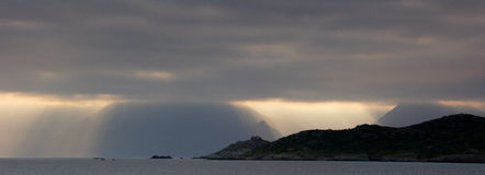 Cloudscape,土耳其 图库摄影