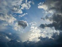 Cloudscape,土耳其 库存照片