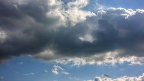 Cloudscape,自由背景 免版税库存图片