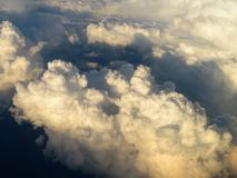 Cloudscape πέρα από τη νότια Γερμανία στοκ φωτογραφίες με δικαίωμα ελεύθερης χρήσης