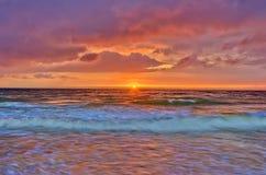 cloudscape πορτοκαλί καλοκαίρι Στοκ φωτογραφία με δικαίωμα ελεύθερης χρήσης