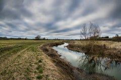 Cloudscape στην επαρχία Στοκ Εικόνες