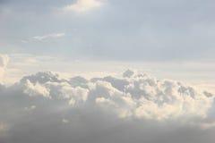 Cloudscape στον ουρανό Στοκ Εικόνες