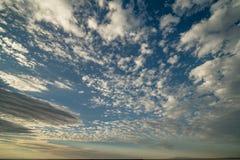 Cloudscape восхода солнца над пустыней Юты Стоковая Фотография