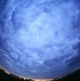 cloudscape предпосылки Стоковое фото RF